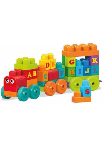 MEGA BLOKS Spielbausteine »Mega Bloks ABC Lernzug«, (60 St.) kaufen