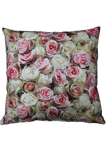 """Kissenhülle """"32452 Roses"""" HOSSNER  -  HOMECOLLECTION kaufen"""