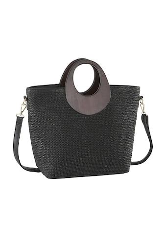 Tasche in Flechtoptik kaufen
