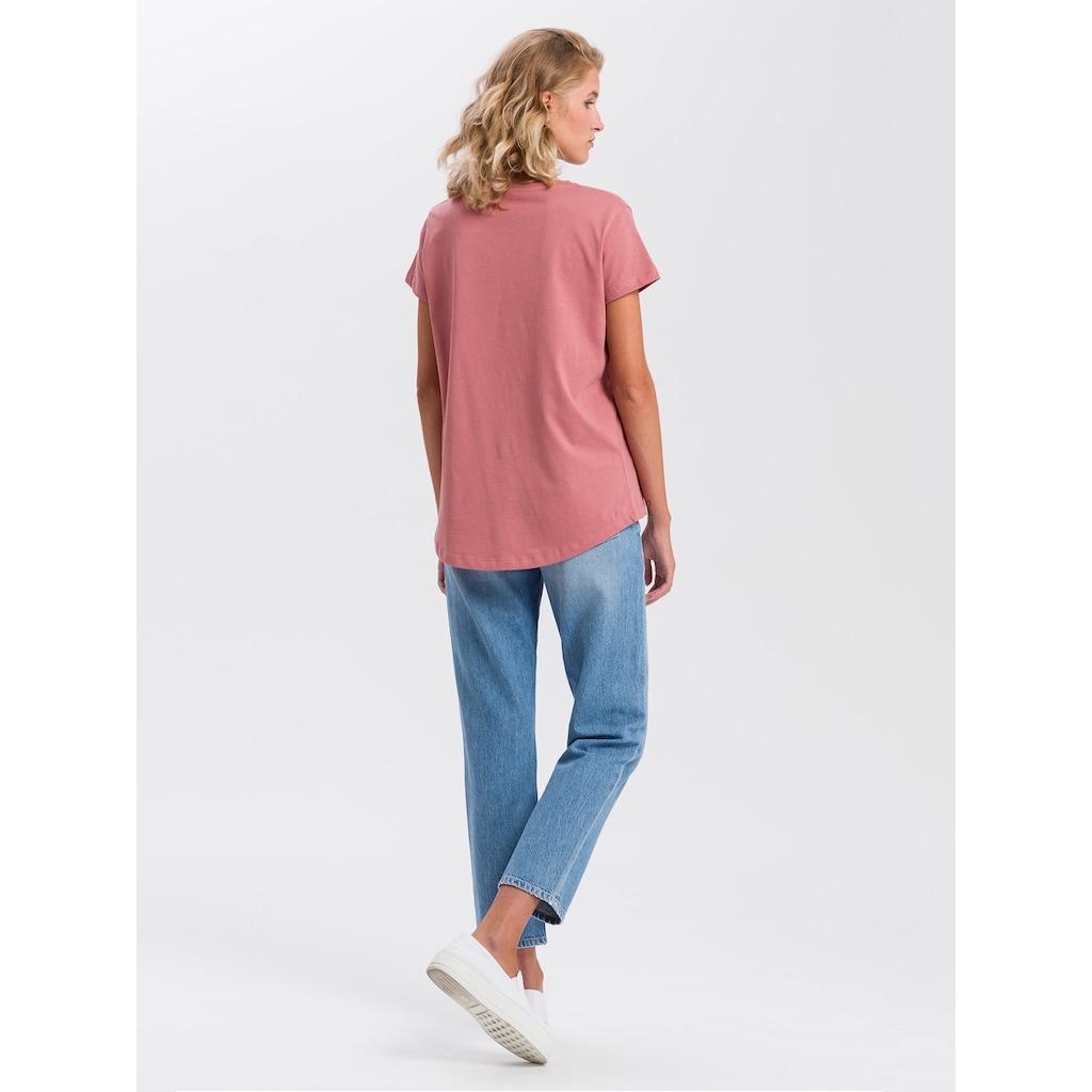 Cross Jeans® T-Shirt »55728«, Legeres Shirt