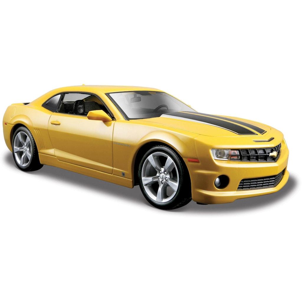 Maisto® Sammlerauto »Chevrolet Camaro SS RS9, 1:24, gelb«, 1:24, aus Metallspritzguss