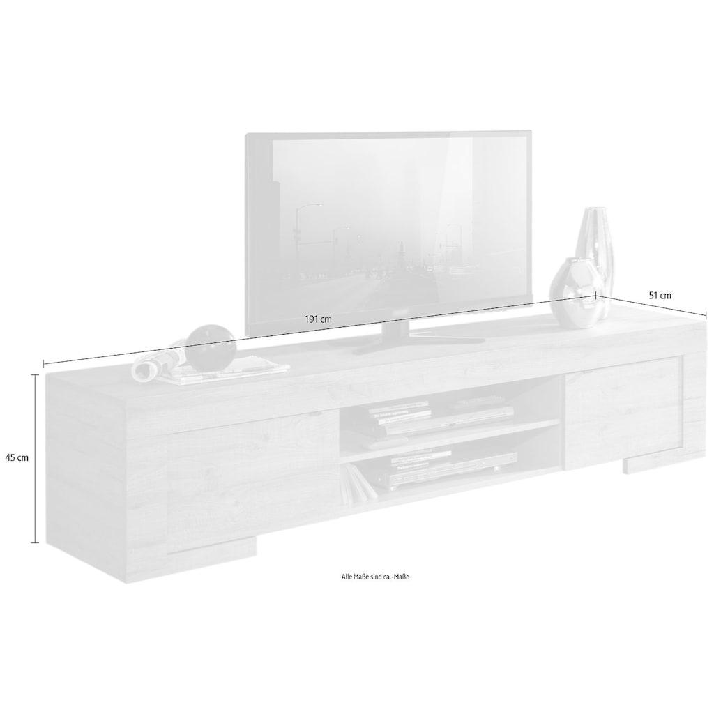 LC Lowboard »Milano«, Breite 191 cm