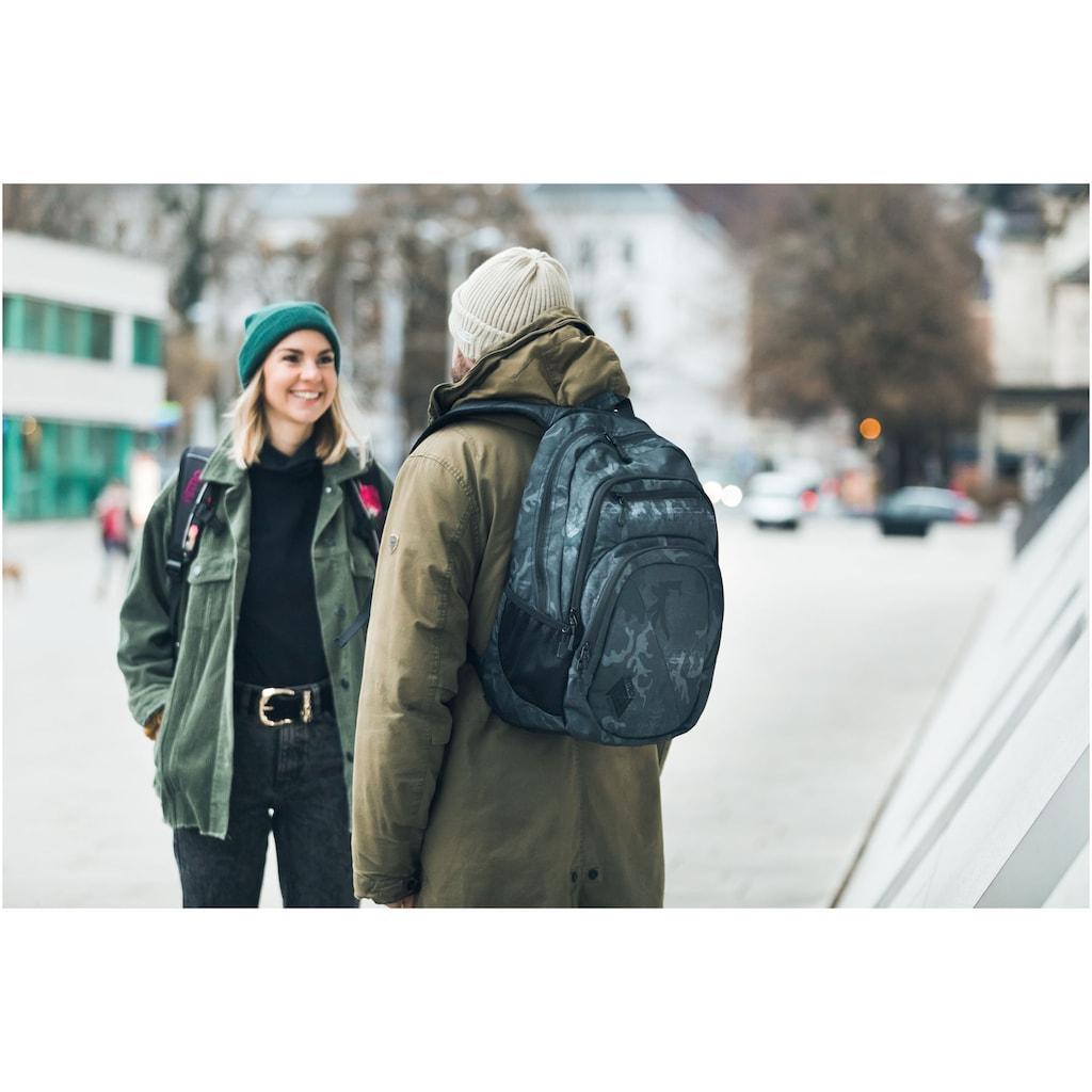 NITRO Schulrucksack »Stash 29, Forged Camo«