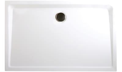 Schulte Rechteckduschwanne »Extraflach«, BxT: 100 x 80 cm kaufen
