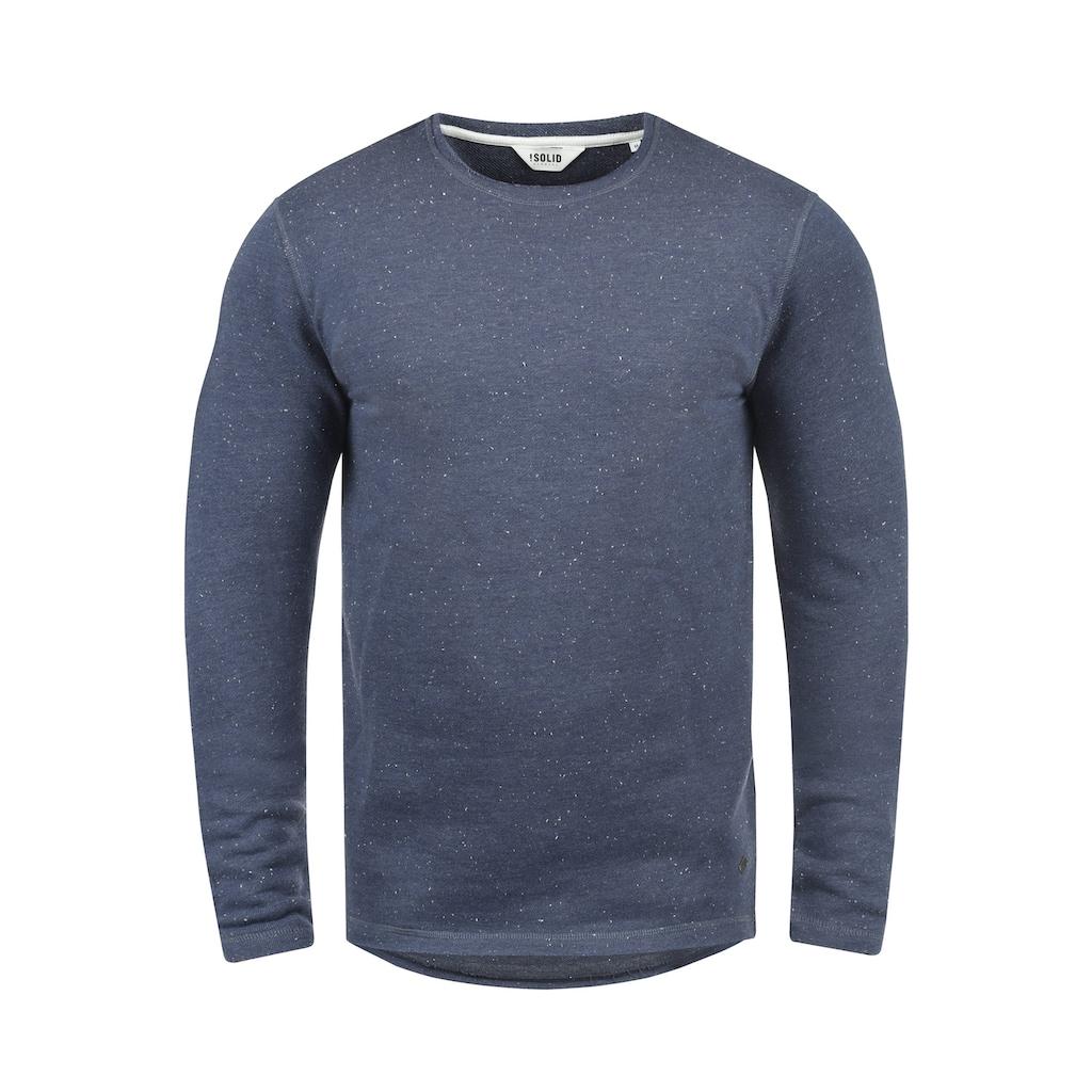 Solid Sweatshirt »Nappo«, Sweatpullover mit Naps