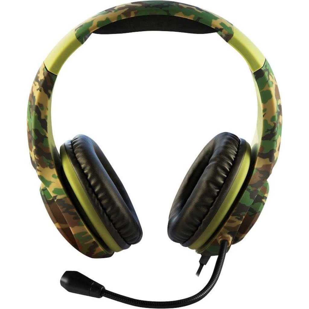 4Gamers Gaming-Headset »PRO4-70 CAMO«