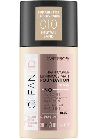 Catrice Foundation »Clean ID High Cover Luminous Matt« kaufen