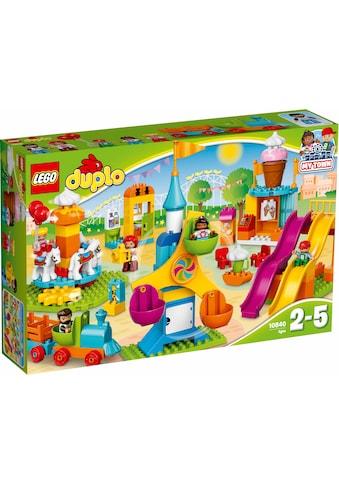 """LEGO® Konstruktionsspielsteine """"Großer Jahrmarkt (10840), LEGO® DUPLO® Town"""", (106 - tlg.) kaufen"""