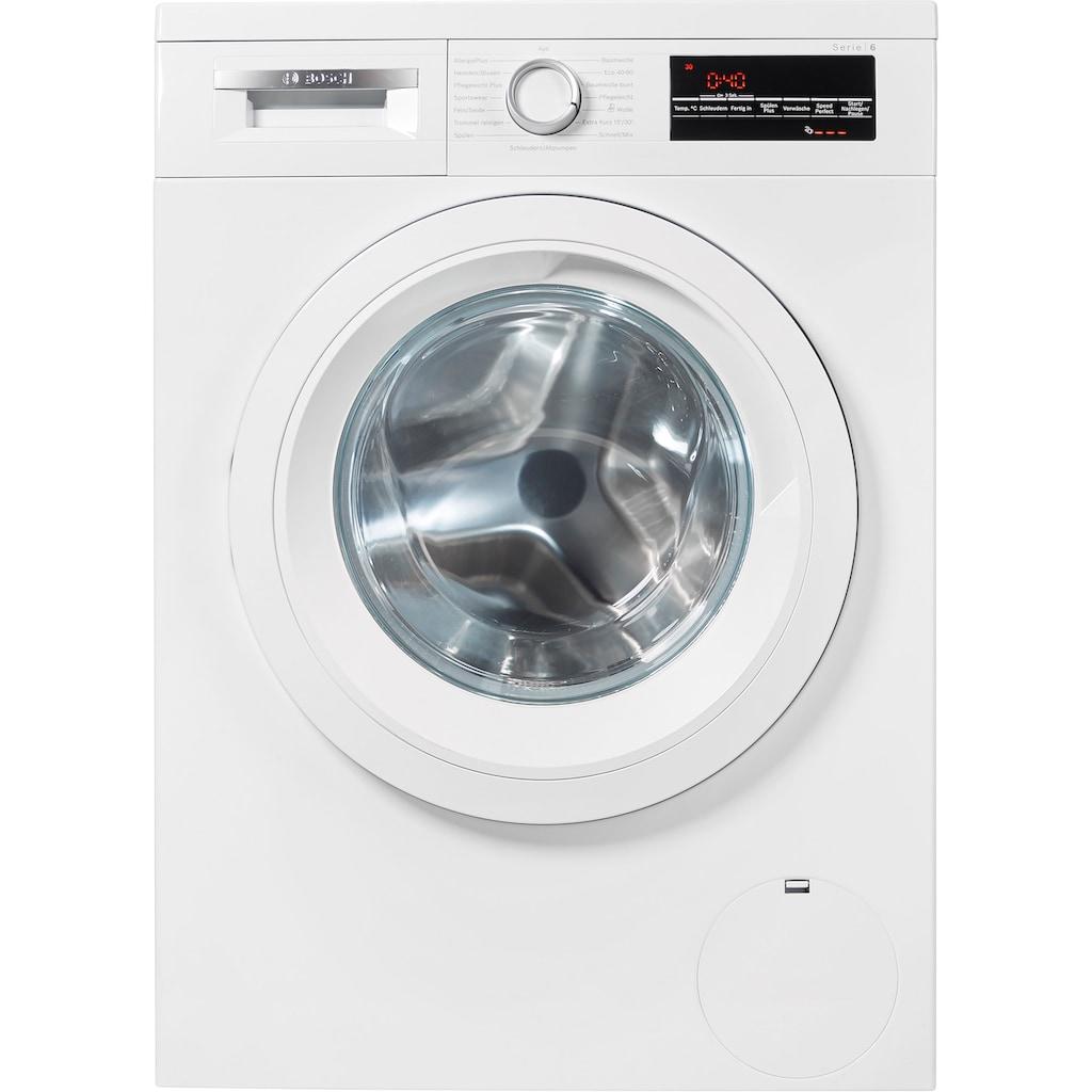 BOSCH Waschmaschine »WUU28T20«, 6, WUU28T20, 8 kg, 1400 U/min, unterbaufähig