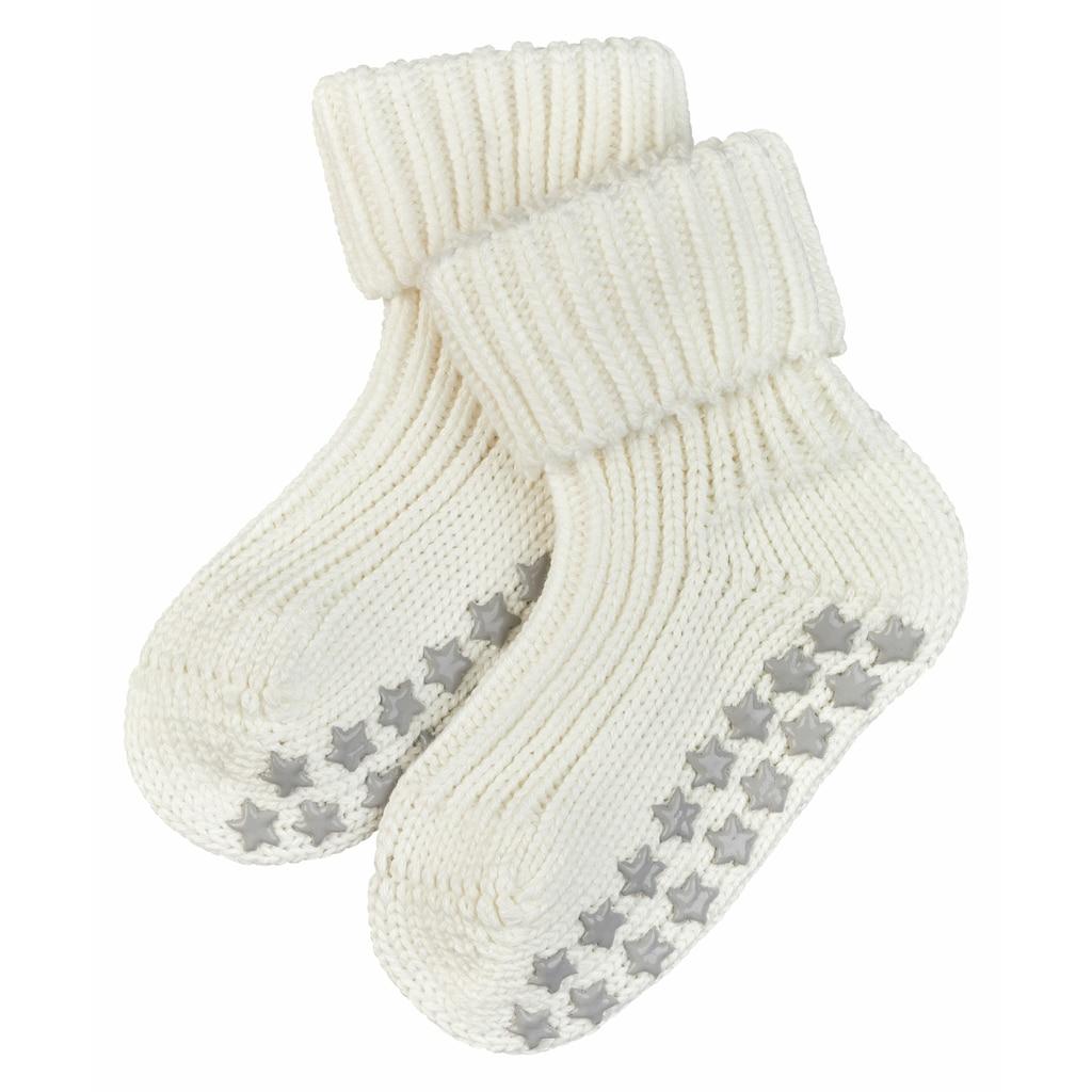 FALKE Socken »Catspads Cotton«, (1 Paar), mit Silikonnoppen