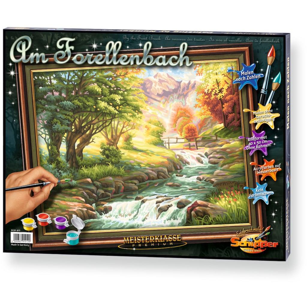 Schipper Malen nach Zahlen »Meisterklasse Premium Forellenbach«, Made in Germany
