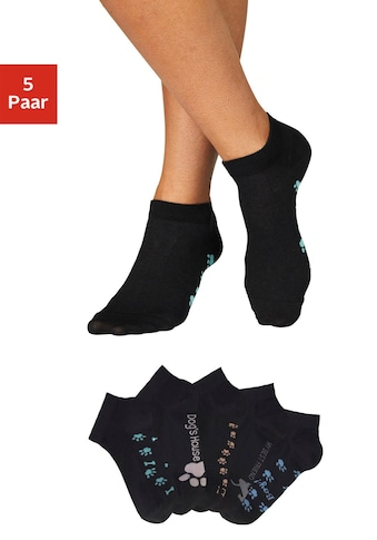 Arizona Sneakersocken, (5 Paar), mit süßem Pfotendesign unter der Sohle kaufen