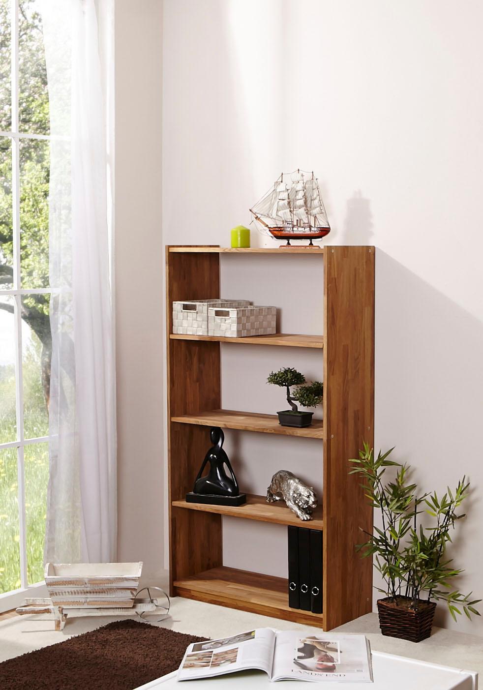 Ticaa Standregal in 4 Höhen von 111 - 214 cm, Eiche | Kinderzimmer > Kinderzimmerregale | TICAA