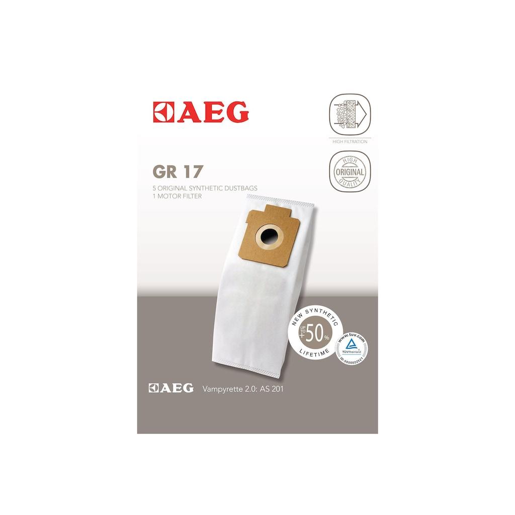 AEG Staubsaugerbeutel »GR 17«, für Vampyrette Modelle AS und AVBG
