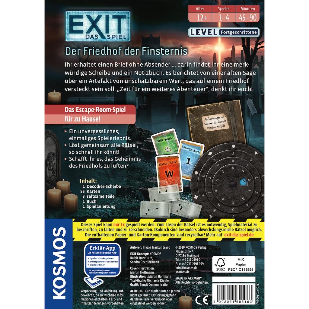 Kosmos Spiel »EXIT - Der Friedhof der Finsternis«, Made in Germany