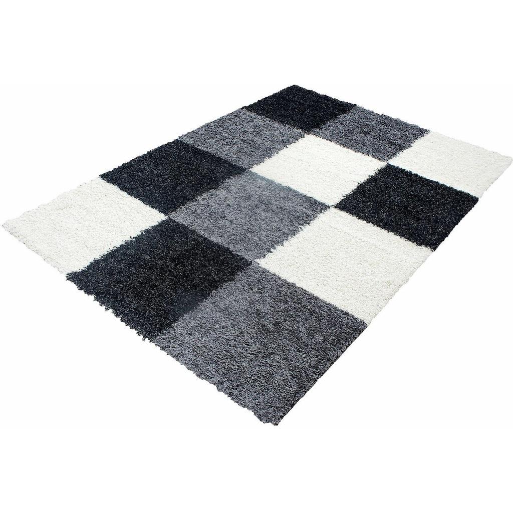 Ayyildiz Hochflor-Teppich »Life Shaggy 1501«, rechteckig, 30 mm Höhe, Wohnzimmer
