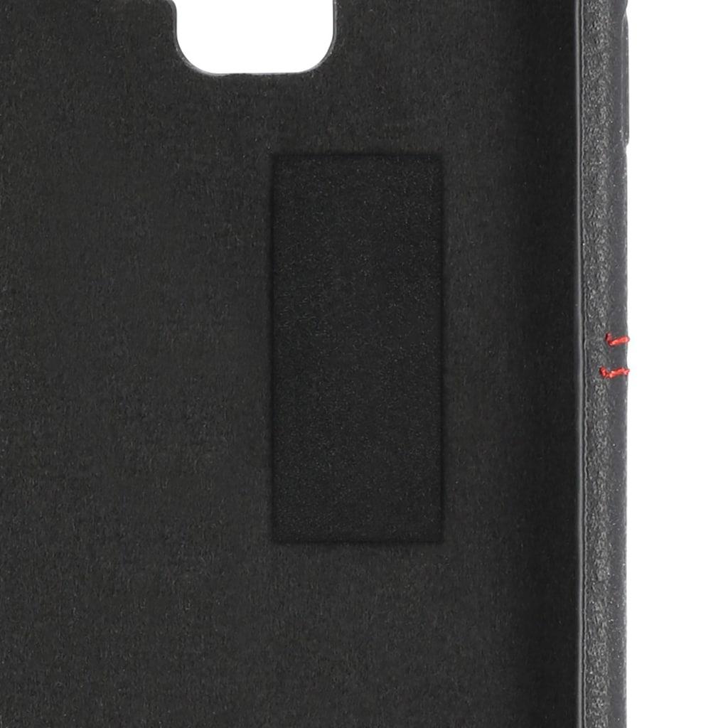 Hama Booklet, Hülle,Tasche für Apple iPhone X/Xs Schwarz/Rot