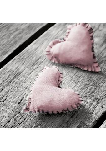 Home affaire Leinwandbild »Hearts Pink«, 40/40 cm kaufen