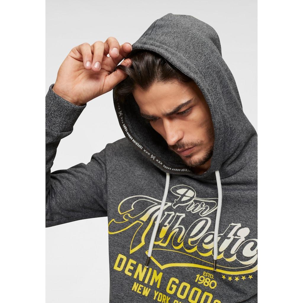 John Devin Kapuzensweatshirt, mit Kängurutasche
