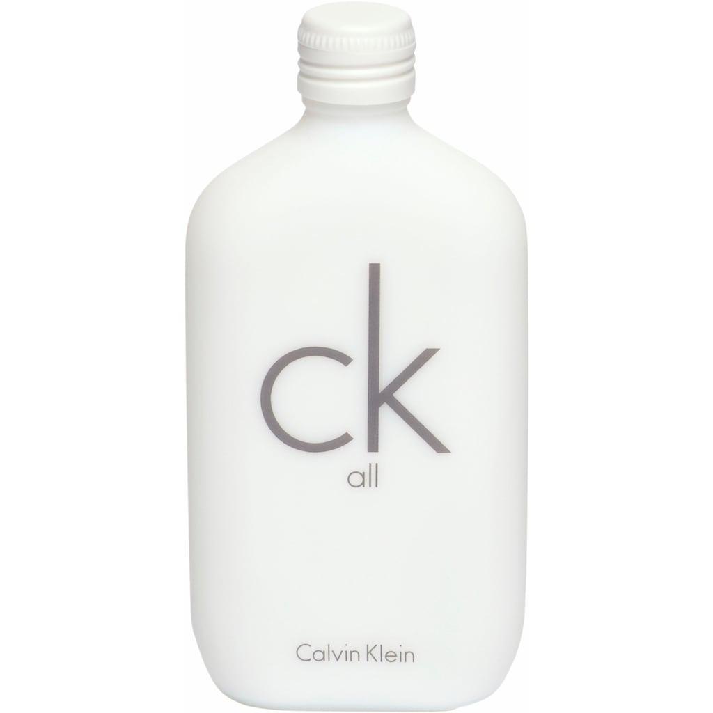 Calvin Klein Eau de Toilette »ck all«