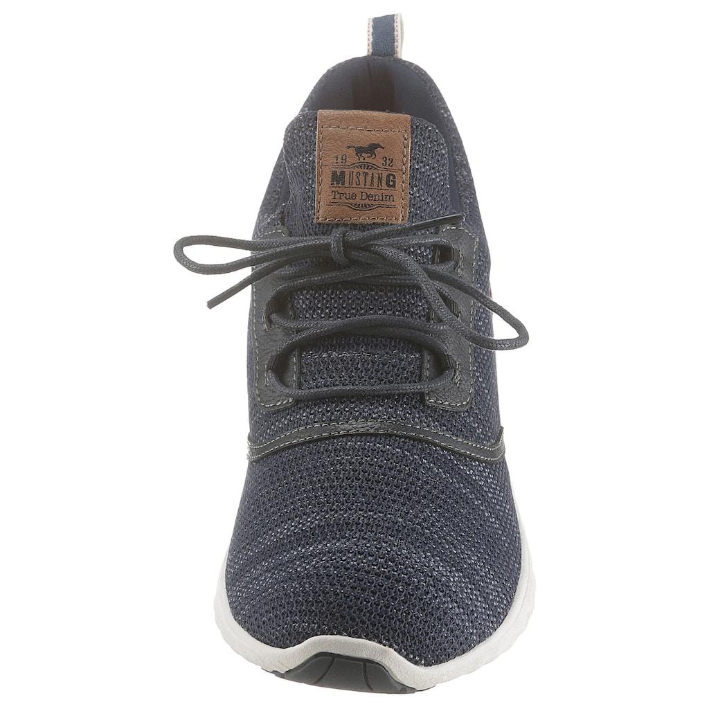 Mustang Shoes Slip-On Sneaker, mit modischen Logoapplikationen