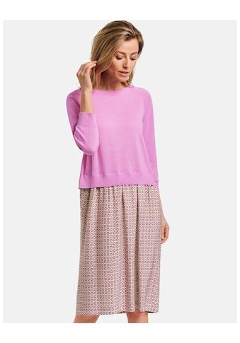 GERRY WEBER Kleid Strick »Kleid mit gestricktem Oberteil« kaufen