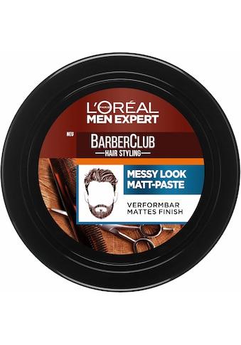 L'ORÉAL PARIS MEN EXPERT Haarpomade »Barber Club Messy Look Matt Paste« kaufen