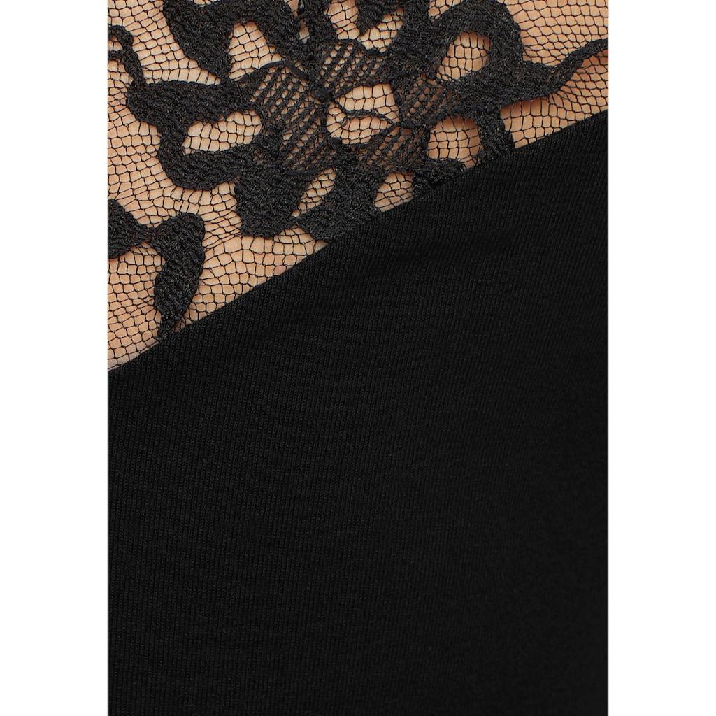 Melrose Spitzenshirt
