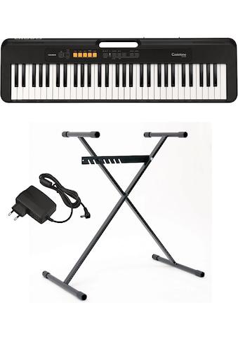 CASIO Keyboard »Casiotone CT-S100AD«, inkl. Netzadapter und Stativ kaufen