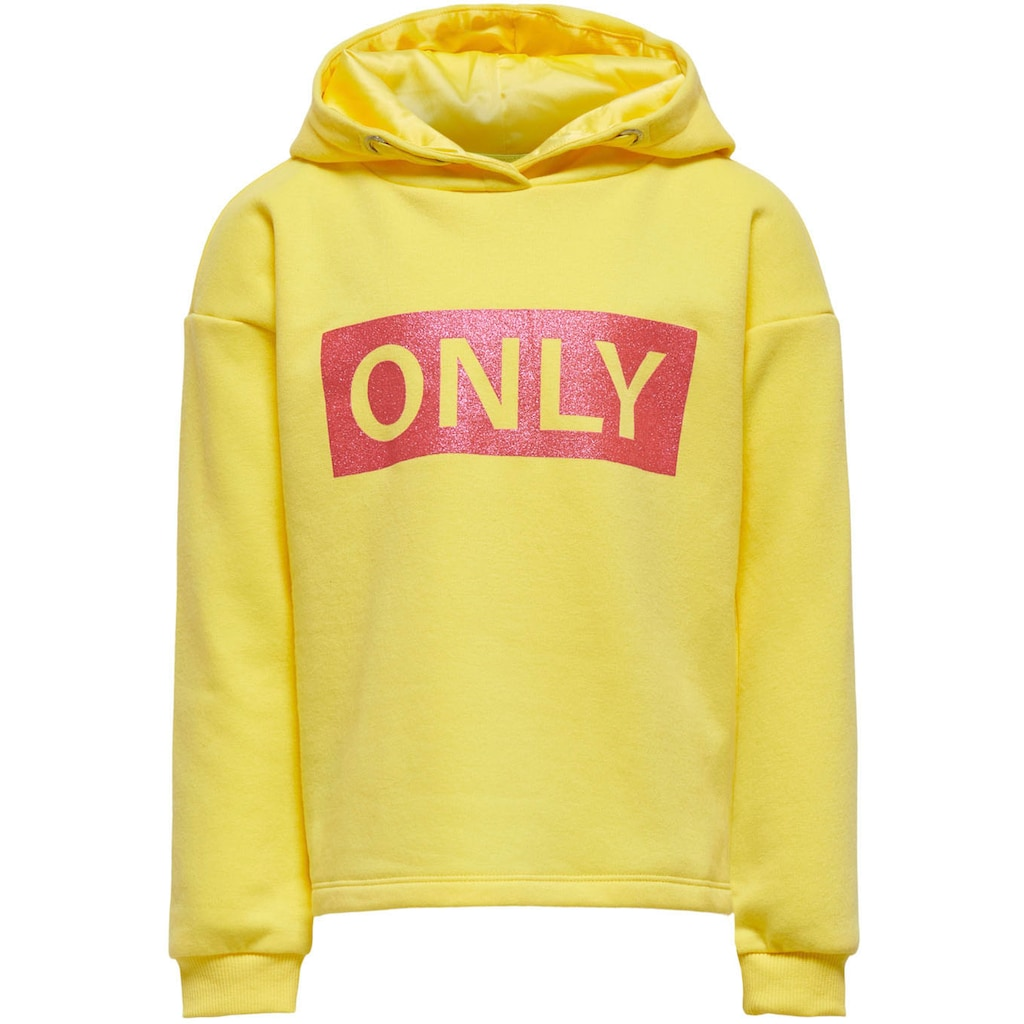 KIDS ONLY Kapuzensweatshirt »KONWENDY«, in legerer Basicform