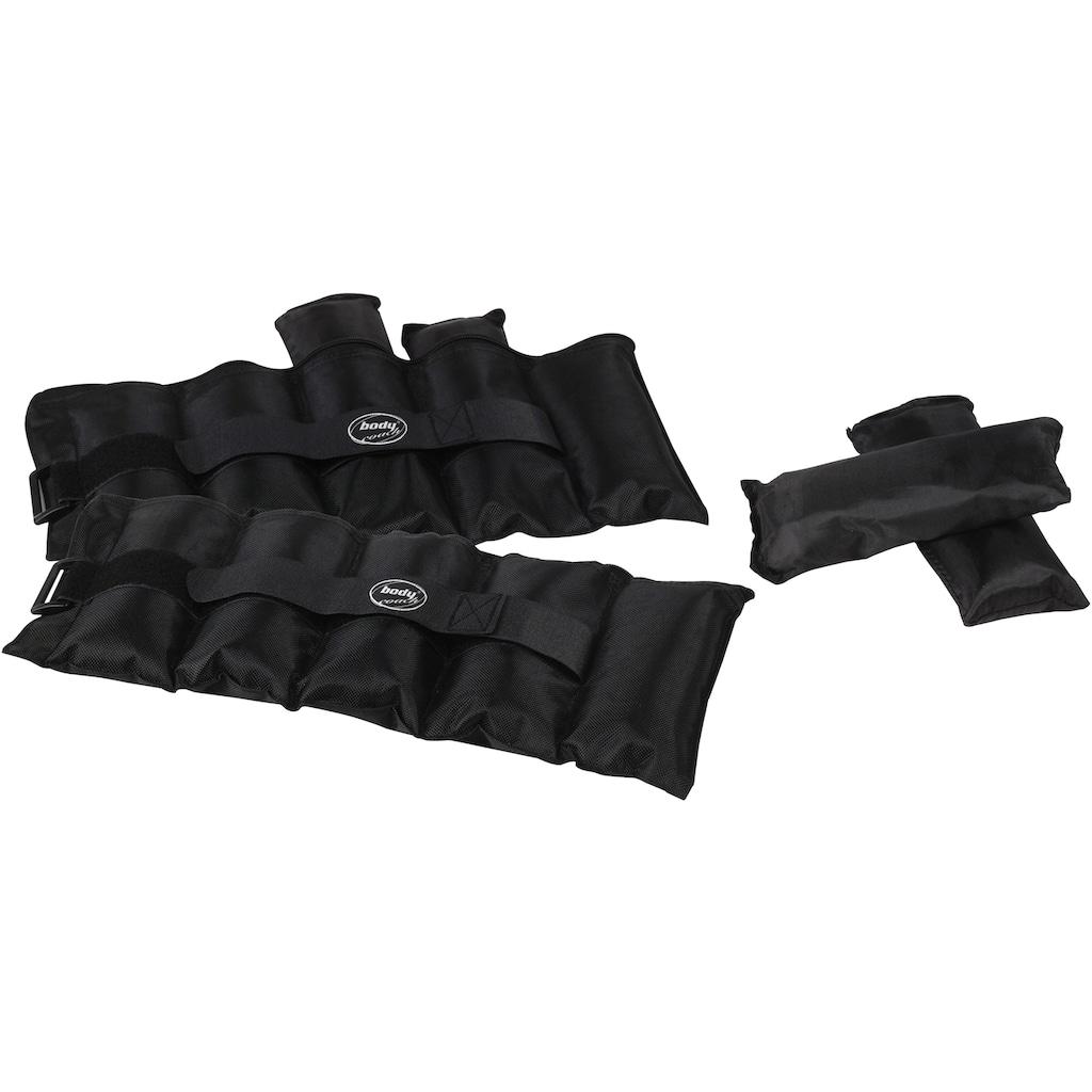 body coach Gewichtsmanschette »Fitness Gelenkgewichte Set«, 4,6 kg, (Set, 2 tlg.)