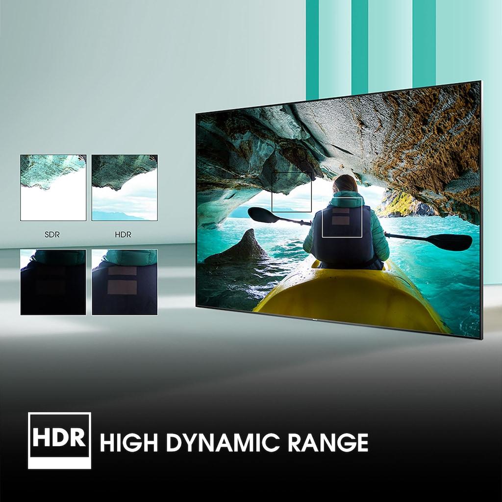 "Hisense LED-Fernseher »65AE7010F«, 164 cm/65 "", 4K Ultra HD, Smart-TV, 4K Ultra HD"