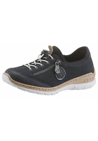 Rieker Slip-On Sneaker, mit Außenreißverschluss kaufen