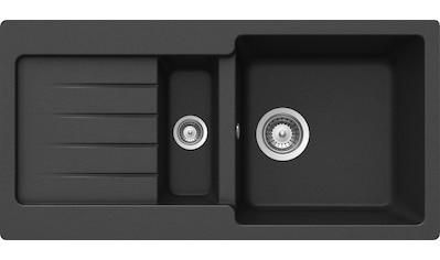 Schock Granitspüle »Family, mit Restebecken, 86x43,5 cm« kaufen