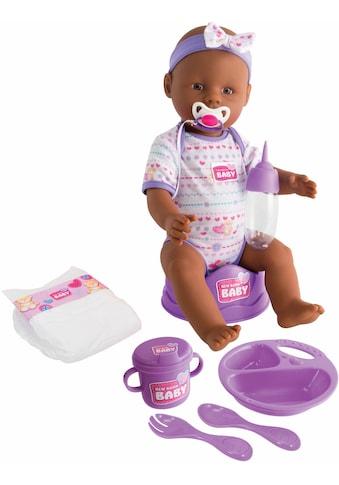 SIMBA Babypuppe »New Born Baby«, (1 tlg.), Violettes Zubehör kaufen