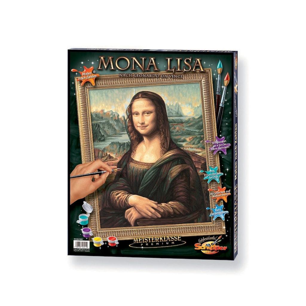 Schipper Malen nach Zahlen »Meisterklasse Premium - Mona Lisa«, Made in Germany