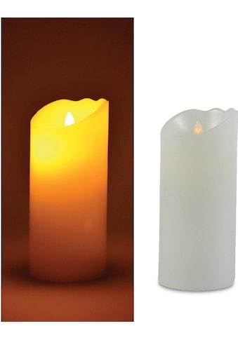 LED-Kerze, aus Echtwachs und Kunststoff, Höhe ca. 17,5 cm kaufen