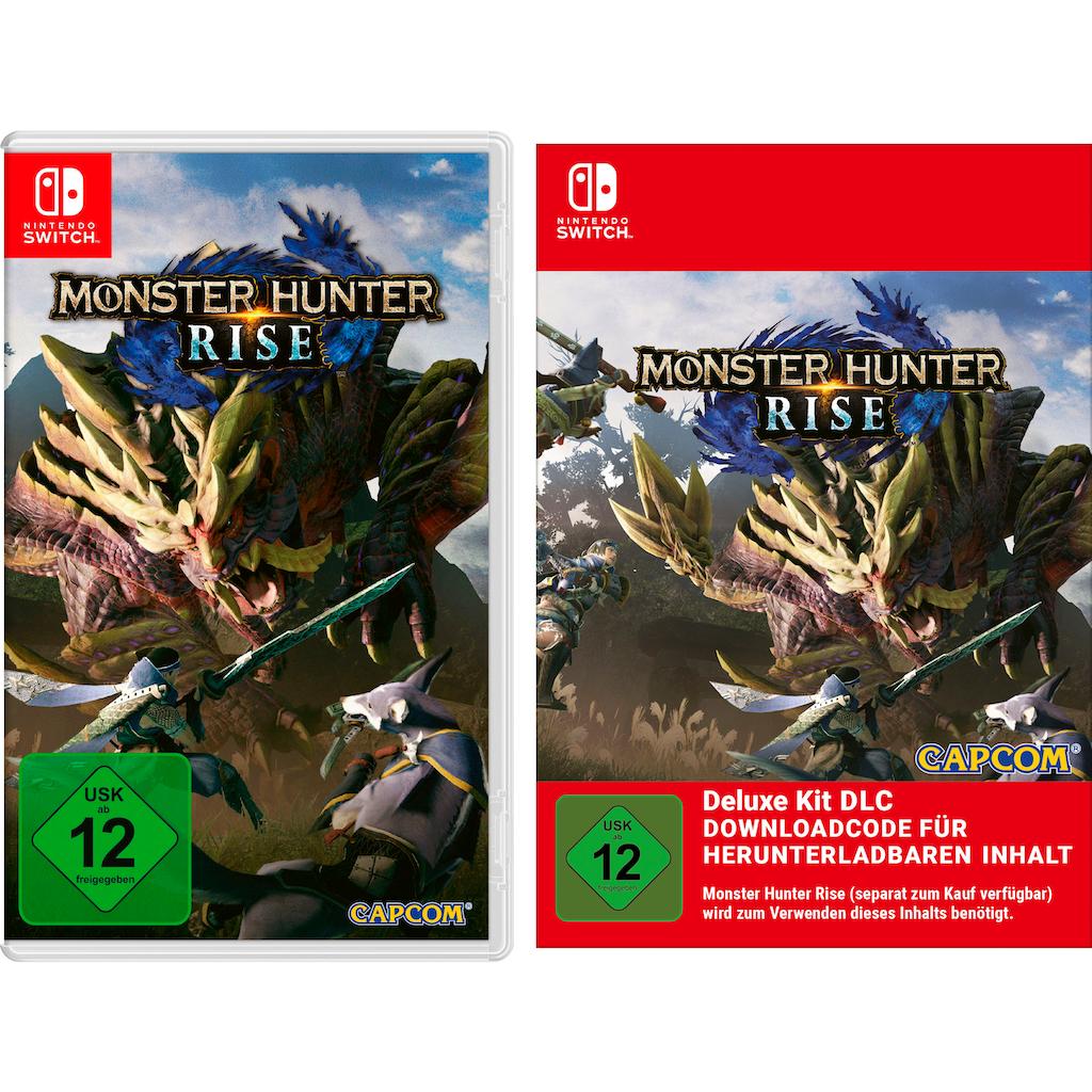 Nintendo Switch Spiel »Monster Hunter Rise + Deluxe Kit DLC«, Nintendo Switch