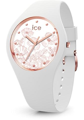 ice-watch Quarzuhr »ICE flower - Spring white - Small - 3H, 16662« kaufen