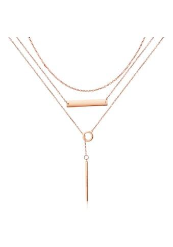 AILORIA Kette mit Anhänger »ARIELLE Halskette Roségold«, Hochglanz-Finish kaufen