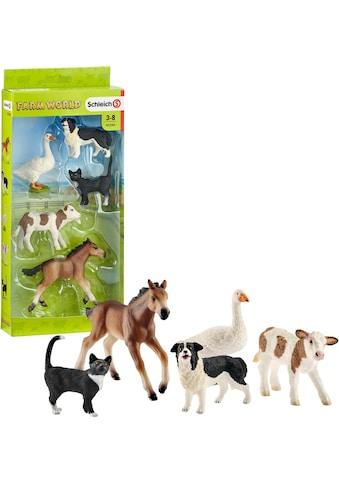"""Schleich® Spielfigur """"Farm World, Tier - Mix (42386)"""", (Set) kaufen"""