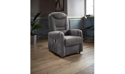 Places of Style TV - Sessel »Tamworth«, in Größe L, wahlweise mit Motor und Aufstehhilfe kaufen