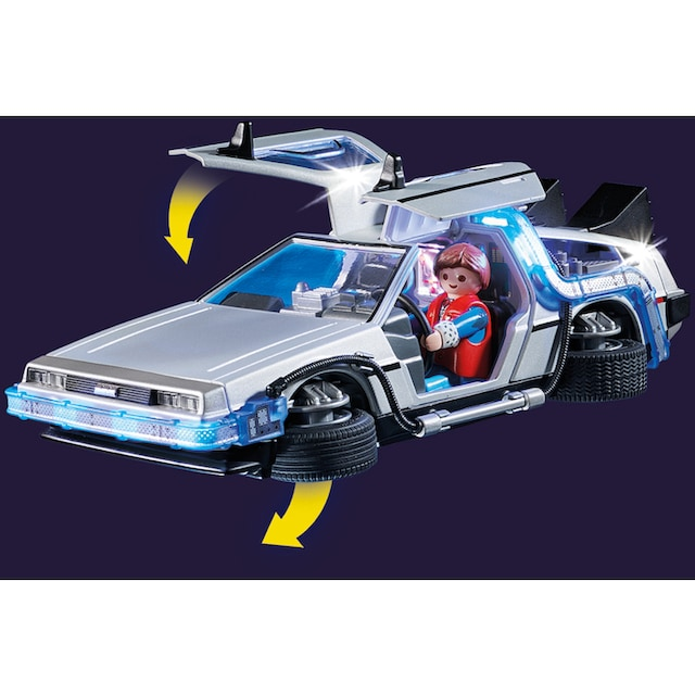 "Playmobil® Konstruktions-Spielset ""Back to the Future DeLorean (70317),Playmobil Back to the Future"", Kunststoff"