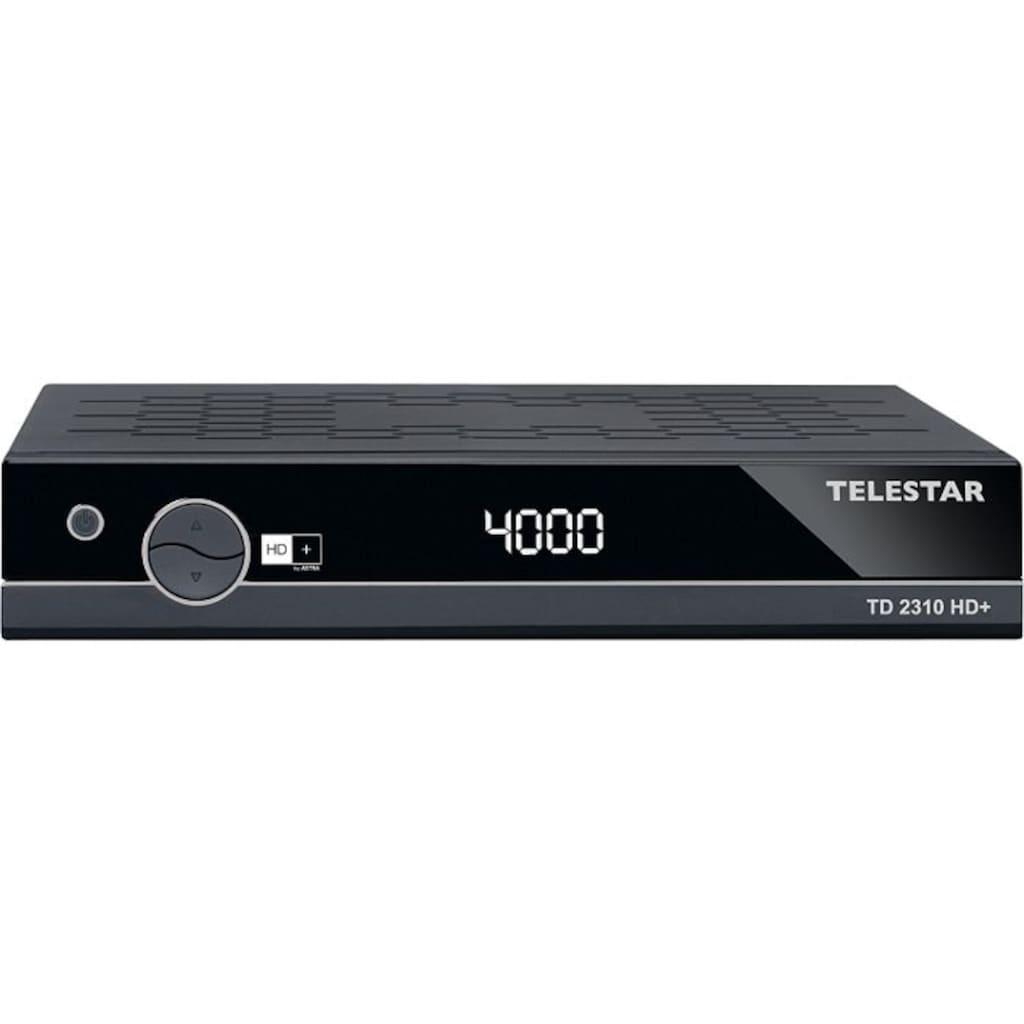TELESTAR SAT-Receiver »TD 2310 HD+«, (HDMI,PVR Ready, USB 2.0, Scart)