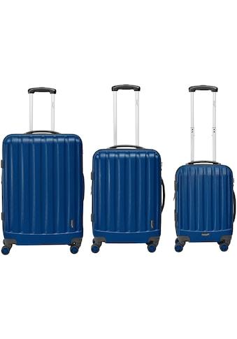 """Packenger Trolleyset """"Velvet"""", 4 Rollen, (Set, 3tlg.) kaufen"""