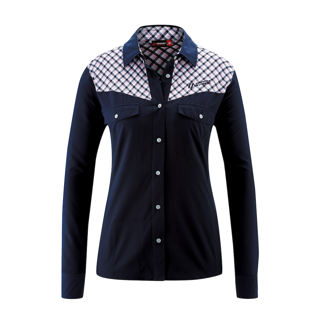 Maier Sports Funktionsbluse »CamilaCheck L/S«