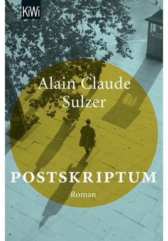 Buch »Postskriptum / Alain Claude Sulzer« kaufen
