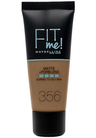MAYBELLINE NEW YORK Foundation »FIT ME Matt&Poreless« kaufen