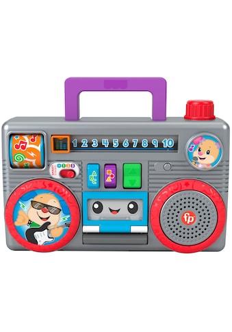 Fisher-Price® Lernspielzeug »Lernspaß Boombox«, mit Licht- und Soundfunktion kaufen