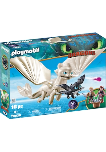 Playmobil® Konstruktions-Spielset »Light Fury Spielset (70038), Dragons«, Made in Germany kaufen
